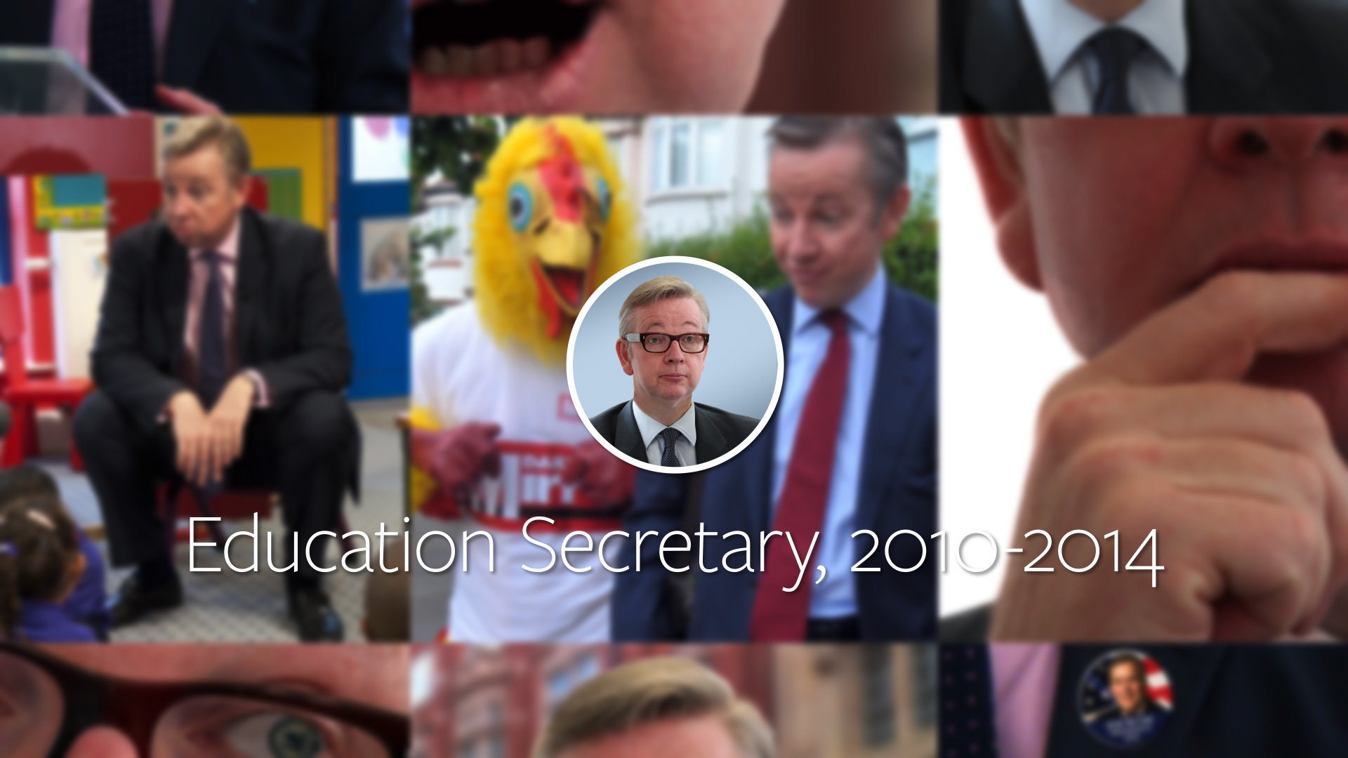 Michael Gove - A Look Back (2014)
